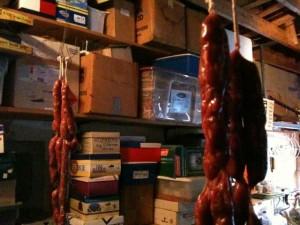 Drying Sausage